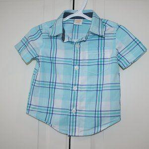 2/$20 Baby boy Gymboree dress shirt 6-12 months